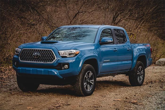 Toyota Tacoma in Blue