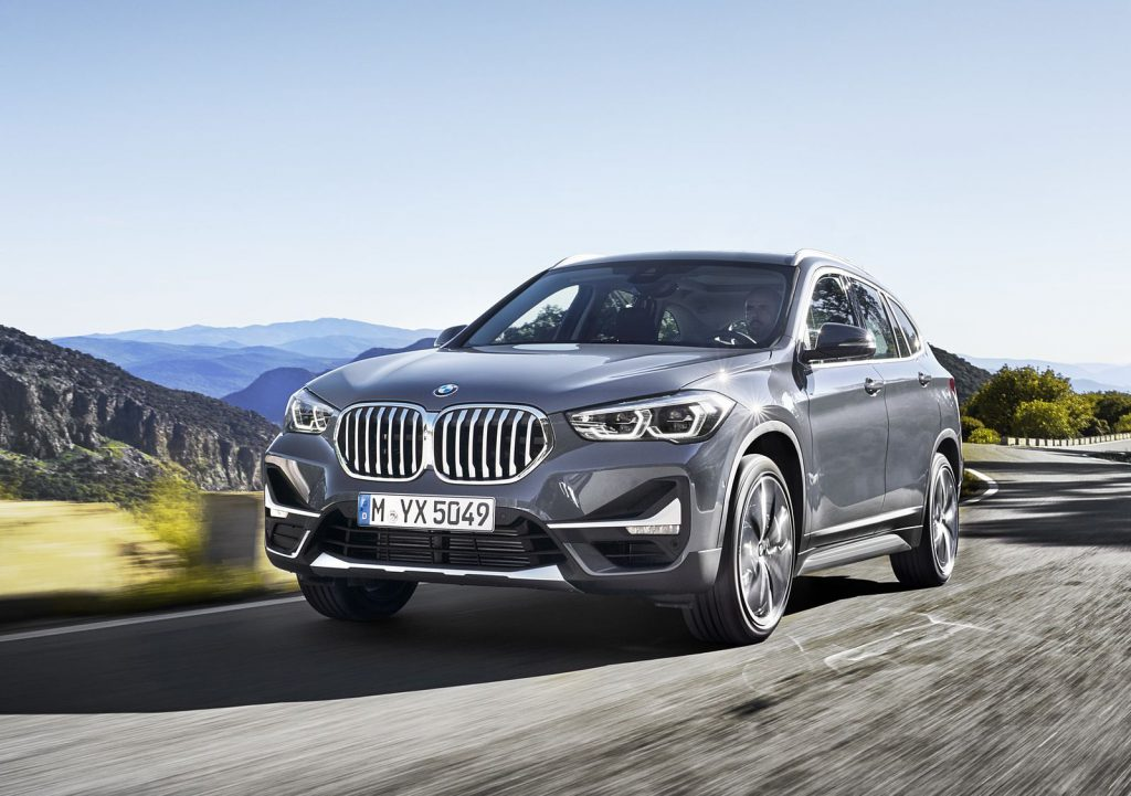 BMW X1 front 3/4 view