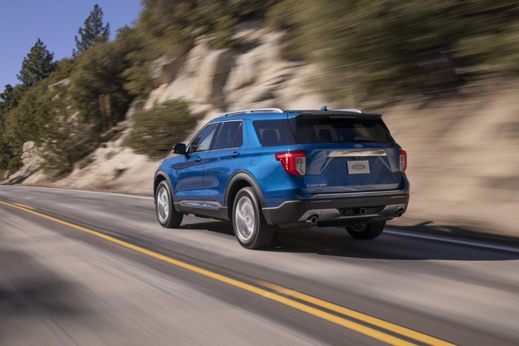 Ford Explorer rear view